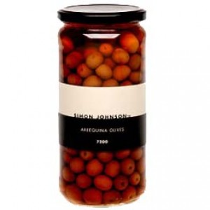 Simon Johnson Arbequina Olives 720g