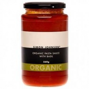 Simon Johnson Organic Pasta Sauce with Basil