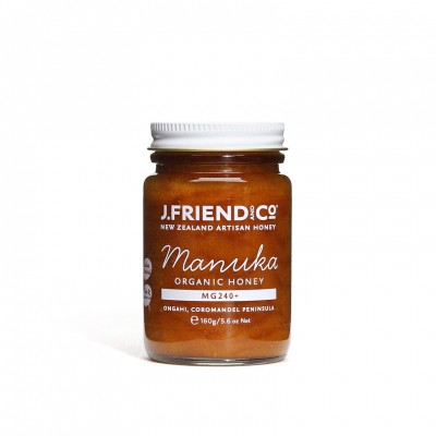 J Friend New Zealand Artisan Manuka Active MG240 Honey