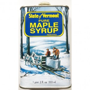State of Vermont Pure Maple Syrup
