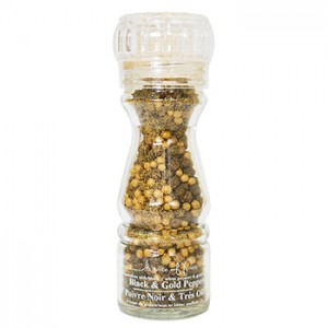 A Taste Of Paris Black & Gold Peppercorns
