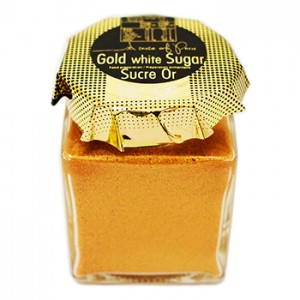 A Taste Of Paris Gold White Sugar