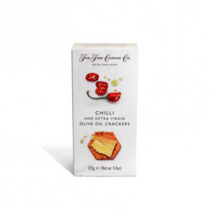 The Fine Cheese Company  Chive Crackers 125g
