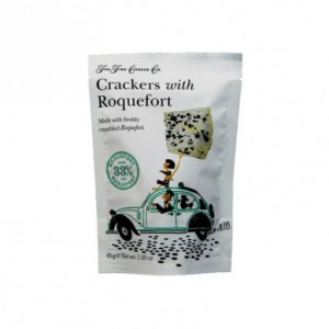 The Fine Cheese Company Crackers with Roquefort