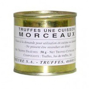 Pebeyre Truffle Pieces 50g tin