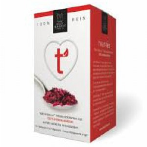 Wild Hibiscus™ heart-tee, 100% Pure Cold Dried Hibiscus Flower Tea 20 Bags